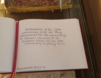 Der 228. Jahrestag der ersten polnischen Verfassung