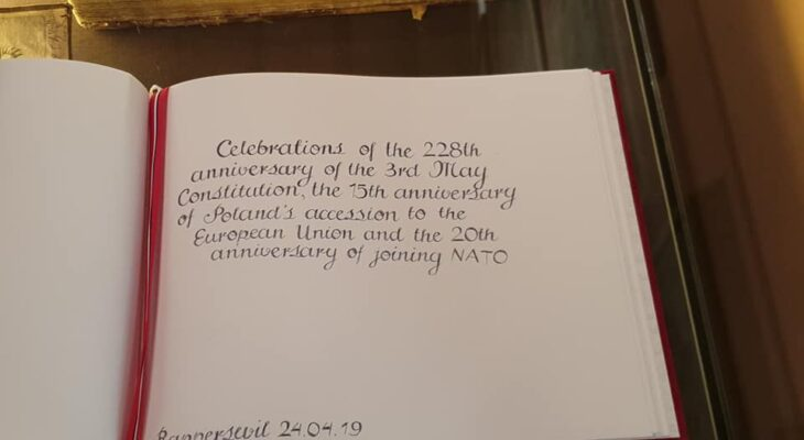 288. rocznica uchwalenia Konstytucji 3. Maja