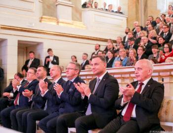 100. Jahrestag der Aufnahme der diplomatischen Beziehungen zwischen Polen und der Schweiz