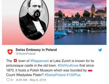 Szwajcarska ambasada chwali się Muzeum Polskim w Rapperswilu. Czy to oznacza, że muzeum przetrwa?