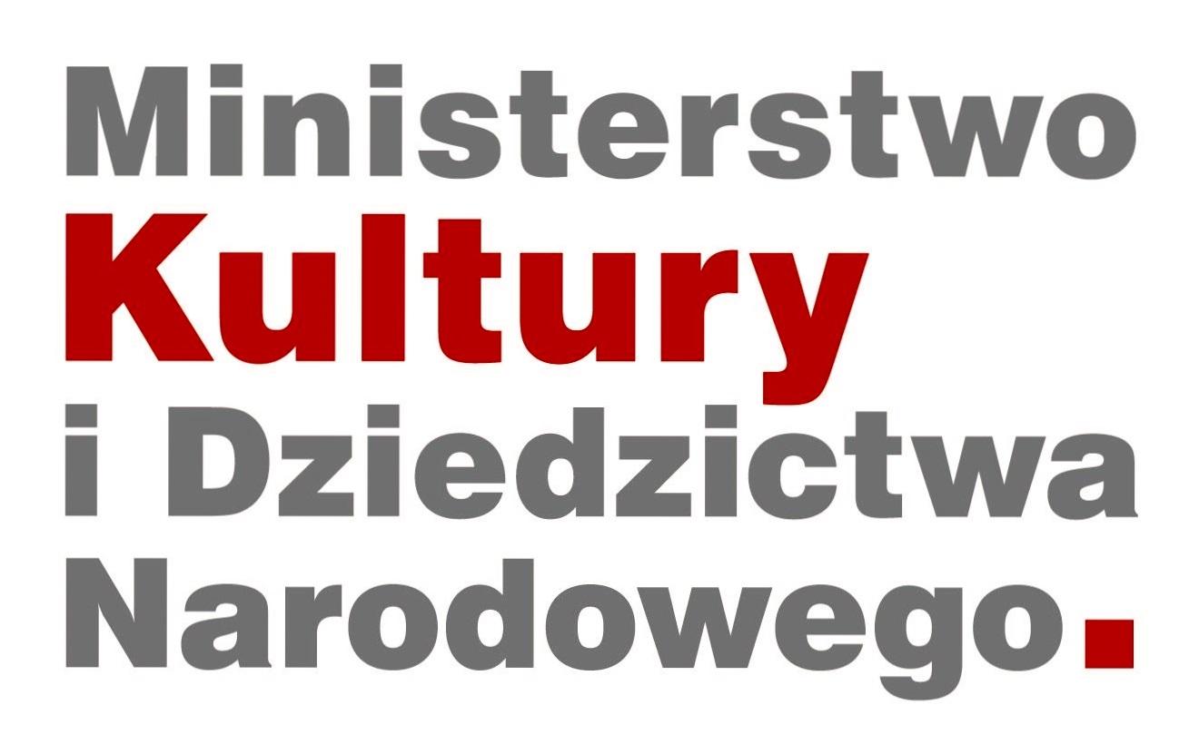 Logo Ministerstwa Kultury i Dziedzictwa Narodowego. Link otwiera się w nowym oknie
