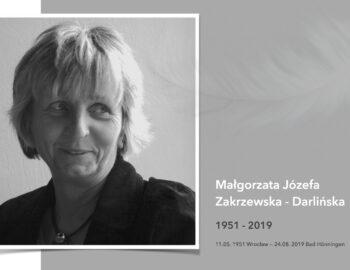 Małgorzata, wir erinnern uns!