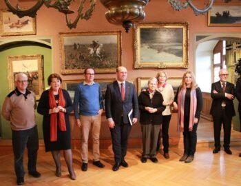 Besuch vom polnischen Vize-Aussenminister Szymon Szynkowski vel Sek im Polenmuseum.