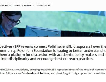 Sept. 2020 – Conference of young Polish scientists gathered in the Polonium Foundation
