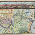 Erik J. Dahlberg, Widok, mapa i plan okolic Gdańska, 1696