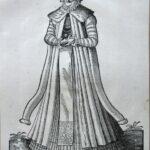 J. Amman, Szlachcianka polska w szubie, 1577
