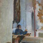 Jacek Malczewski, Szkic do modlitwy, 1913