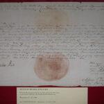 Jeden z 18 dokumentów królewskich z kolecji Nowaka-Jeziorańskiego w Muzeum Polskim w Rapperswilu