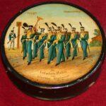 Jedna z rapperswilskiech tabakierek z okresu wojen napoleońskich