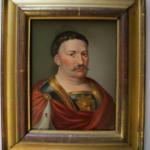 Miniatura portretu Jana III Sobieskiego