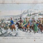 Przejście Rosjan przez Wisłę w styczniu 1813, ok. 1815