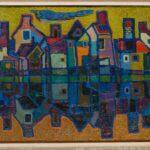 HANNA KALI-WEYNEROWSKA, Stoney Creek (Kanada), olej na płótnie, ok. 1950-1953. Kolekcja Muzeum Polskiego w Rapperswilu
