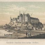 Zamek Albrechtsburg – miejsce produkcji porcelany miśnieńskiej w latach 1710-1863