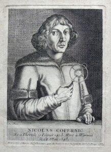 C.B. wg A.C.P. Caylus, Mikołaj Kopernik, miedzioryt, 1765. Kolekcja Muzeum Polskiego w Rapperswilu