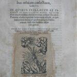 Strona tytułowa drugiego wydania dzieła Mikołaja Kopernika De revolutionibus orbium coelestium, wydanego w Bazylei w 1566. Kolekcja Muzeum Polskiego w Rapperswilu