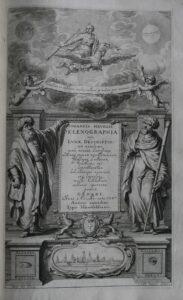Jan Heweliusz, Selenographia, sive Lunae descriptio, Gdańsk, 1647. Kolekcja Muzeum Polskiego w Rapperswilu