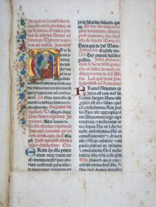 Missale Romanum, Rzym: Stephanus Plannck, 1482