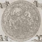 Mapa Księżyca – Jan Heweliusz, Selenographia, sive Lunae descriptio, Gdańsk, 1647