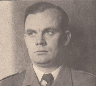 Porucznik Stefan Wąsik. Zbiory Prywatne