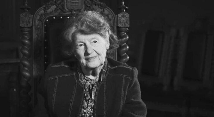 Gräfin Maria Helena Gabriela Rey aus der Familie der Grafen Potocki-Pilawa  (22.20.1929 Warschau – 15.08.2020 Montresor)