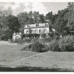 "Photograph of the ""Goldenberg"" villa in Feldbach ZH – seat of the ""Wola"" Training Camp for Polish Girls."