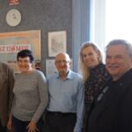operatorzy stacji 3ZM159MPR od lewej - Leszek SP9WZR, Małgorzata SQ9GAK, Robert SQ9FMU, Monika SQ9GAH, Krzysztof SP9LKP