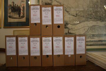 Dokumenty po uporządkowaniu i digitalizacji.