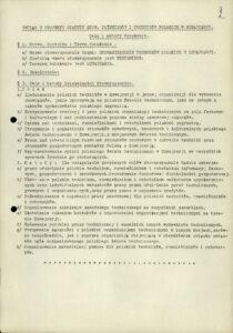 Wyciąg ze Statutu Stowarzyszenia - 1946 r.