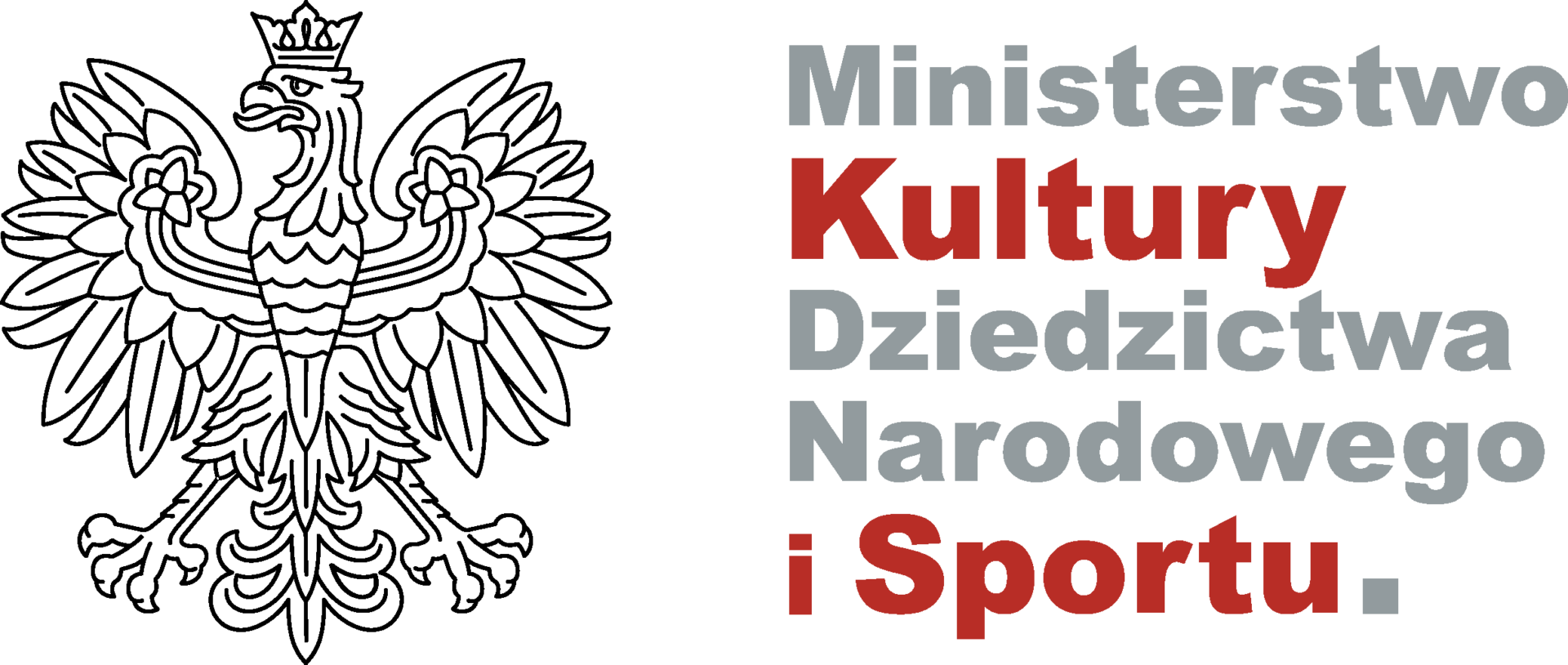 Logotyp Ministerstwa Kultury, Dziedzictwa Narodowego i Sportu. Link otwiera się w nowym oknie