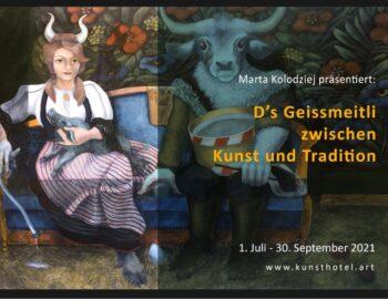 Exhibition of paintings by Marta Kołodziej in Meiringen