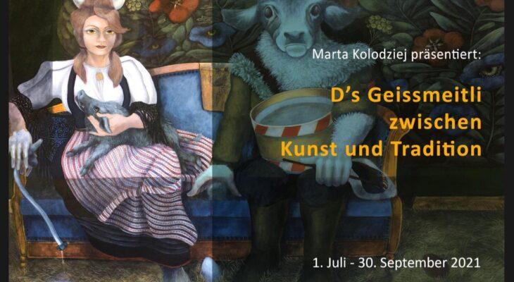 Ausstellung der Bilder von Marta Kołodziej in Meiringen